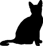 Singapur-Cat-Umriss